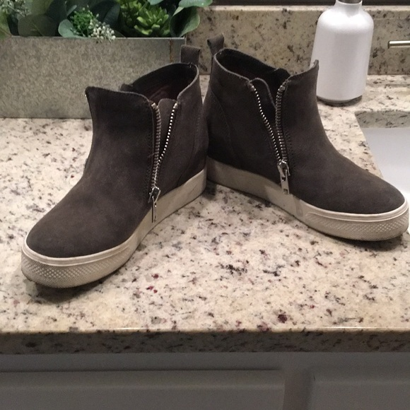658610554d7 Steve Madden wedgie sneaker, grey, 7